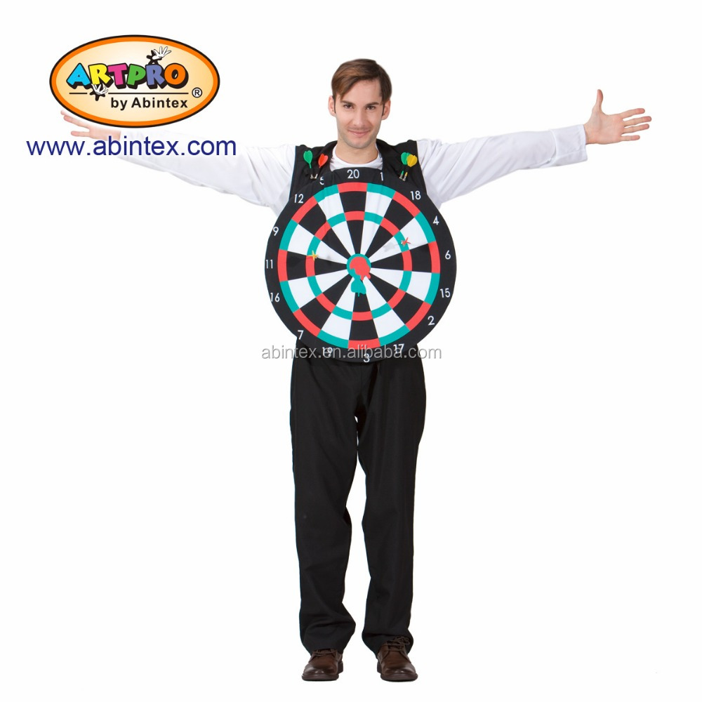 Dart man costume (11-042) as party costume for man