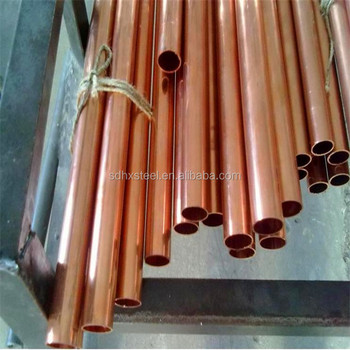 Cheap price 40mm 30mm draw c12300 copper tube c10200 for Copper pipes price
