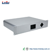 DIY shenzhen supplier Aluminum profile audio and video systems 2U amp amplifier chassis shell aluminum body