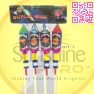 SFB0642 Display Shell Rocket Fireworks for sale 32 inches