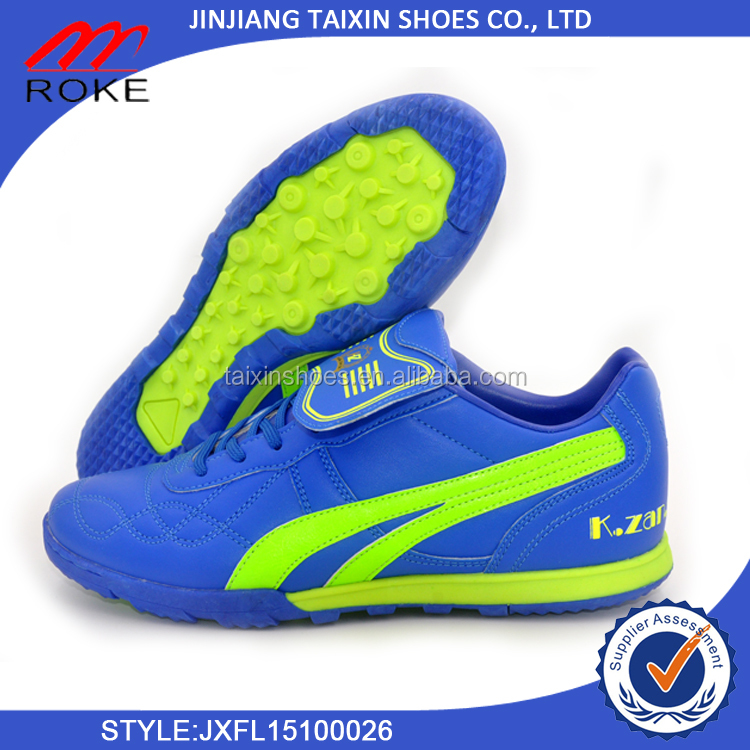 soccer sports indoor football shoes with top quality professional tpu outsole soccer shoes