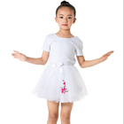 Wholesale white high quality children clothes cheap kids girls party tutu dress