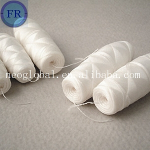Cocoon bobbins thread for african fabric