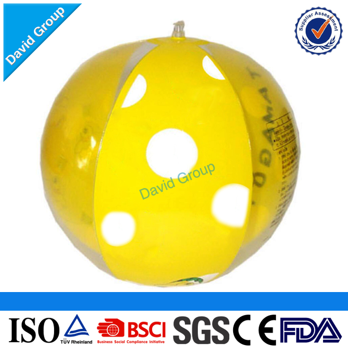 Certified Top Supplier Promotional Wholesale Custom Branded Beach Balls