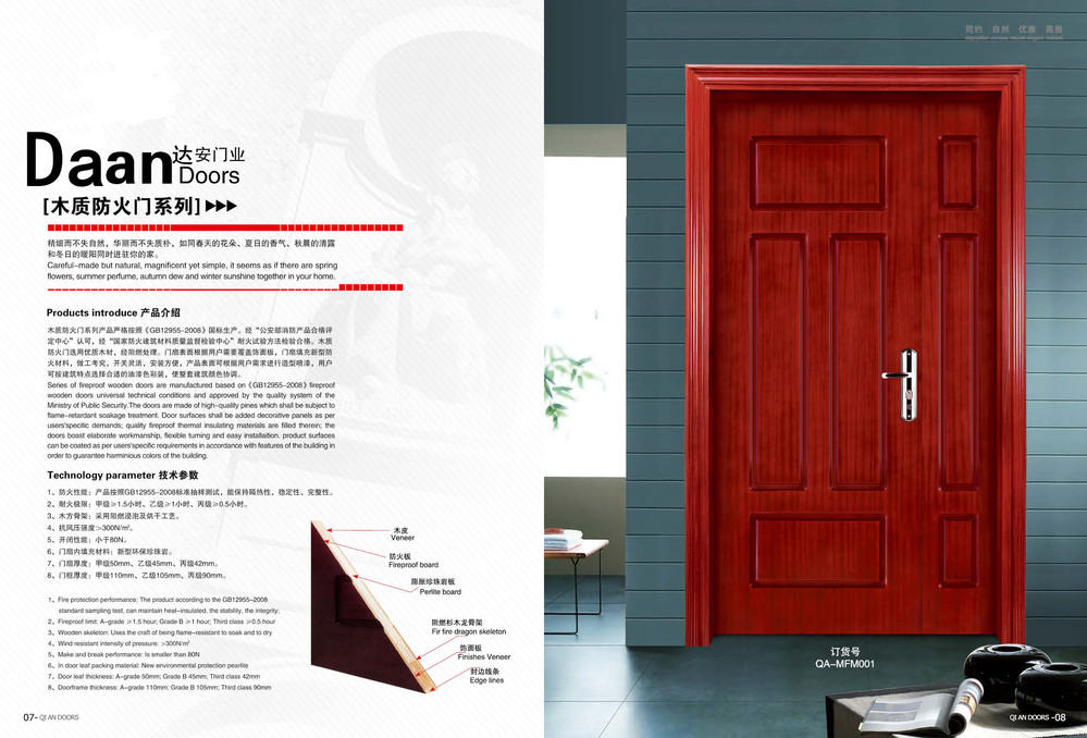 An hour plywood price of fire rated doors buy price of for 1 hour fire rated door price