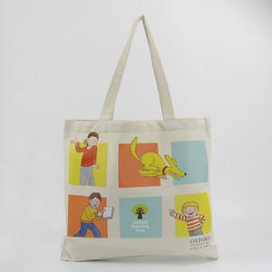 7a412c4ffdbf Heat transfer printing white canvas cotton rope handle stripe beach tote bag