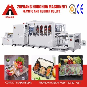 Honghua Full Automatic Plastic Egg tray thermoforming machine