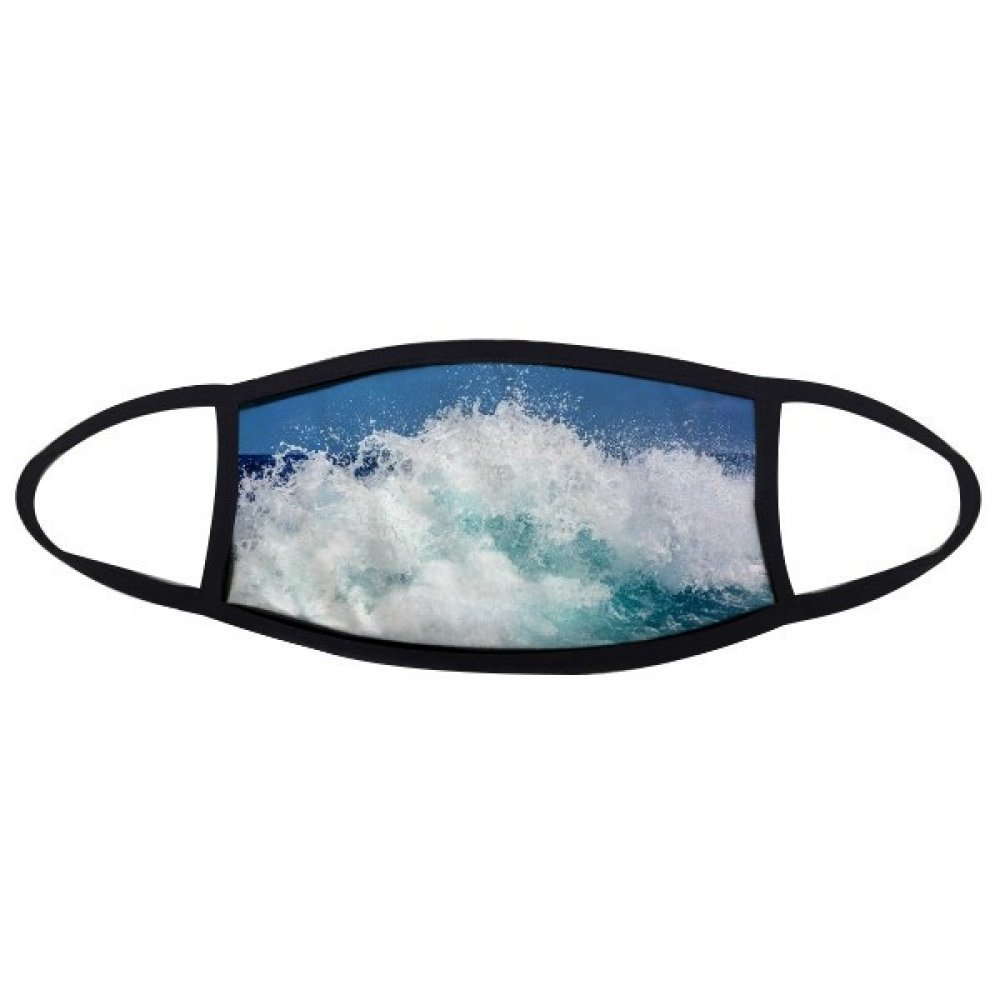 DIYthinker Science Nature Ocean Water Sea Wave Picture Face Anti-dust Mask Anti Cold Maske Gift