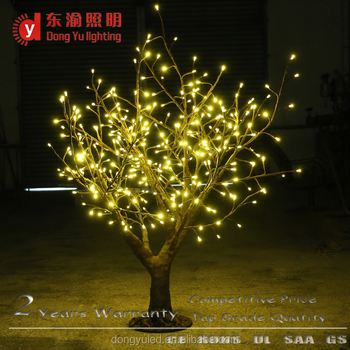 1 3 Meter Christmas Decoration Warm White Candle Light Led Birch Twig Tree