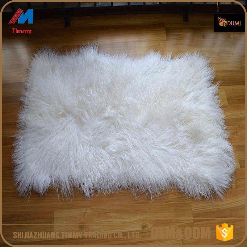 Natural Tibetan Lamb Rug Goat Skin Blanket Mongolian Blanket Sheep Fur Music Memorabilia