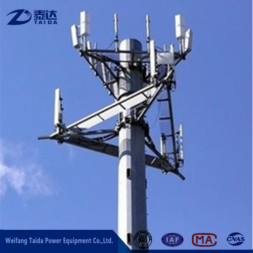 18m (60ft) Mobile Antenna Telescopic Mast on Alibaba