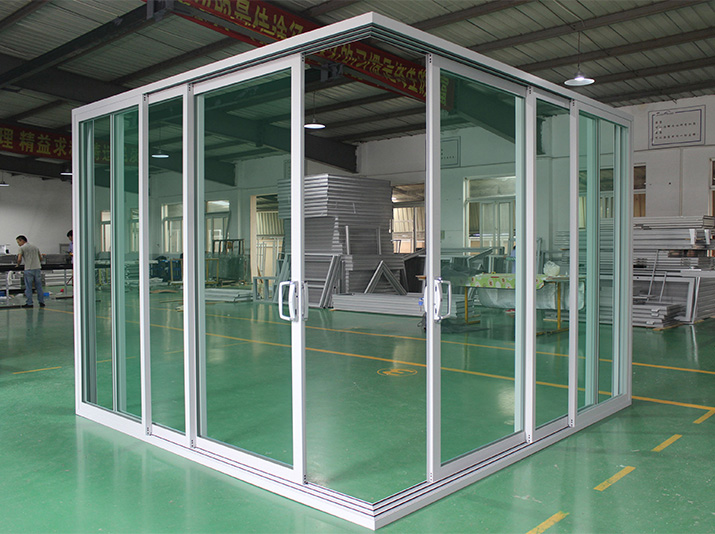 CSA NFRC AS2047 standard residential white interior double slim frame aluminium sliding doors with glass for sale