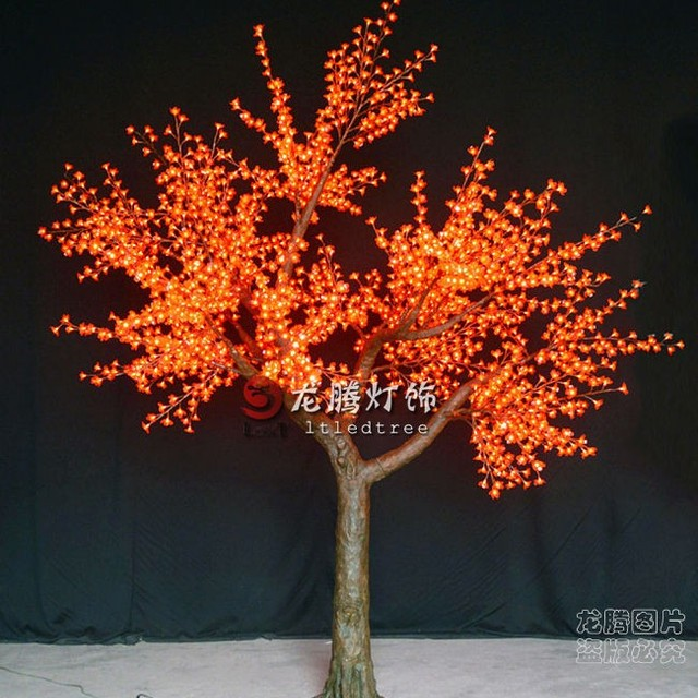 outdoor led christmas light large artificial decorative tree