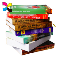 Custom softcover hardcover binding soft cover books printing services