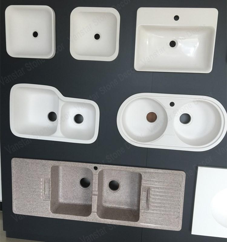 Lavelli Da Cucina In Resina.Design Moderno Cultura Marmo Resina Lavandini Sotto Contatore
