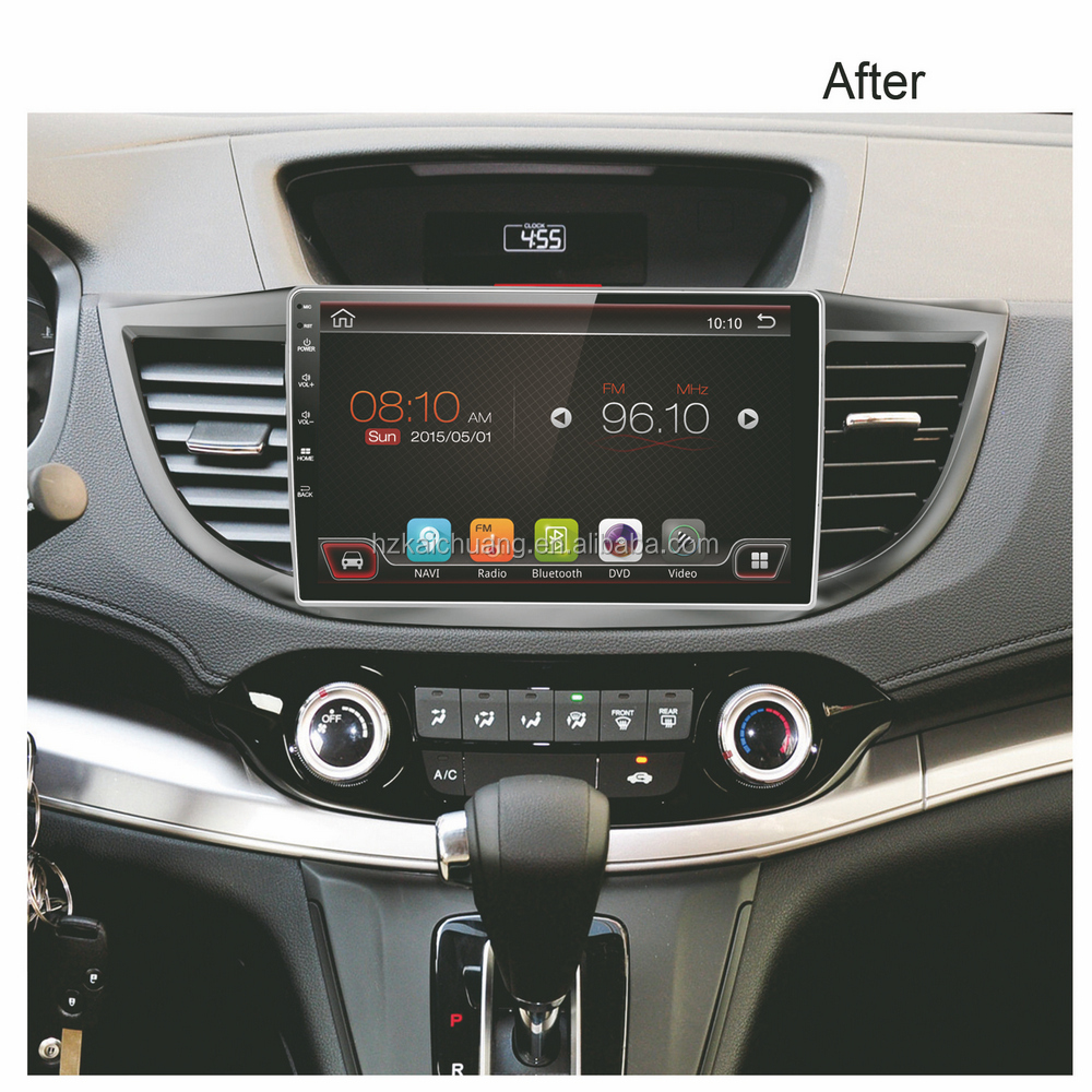 10.1 inch car radio gps with Navigation supports both synchronous playback radio