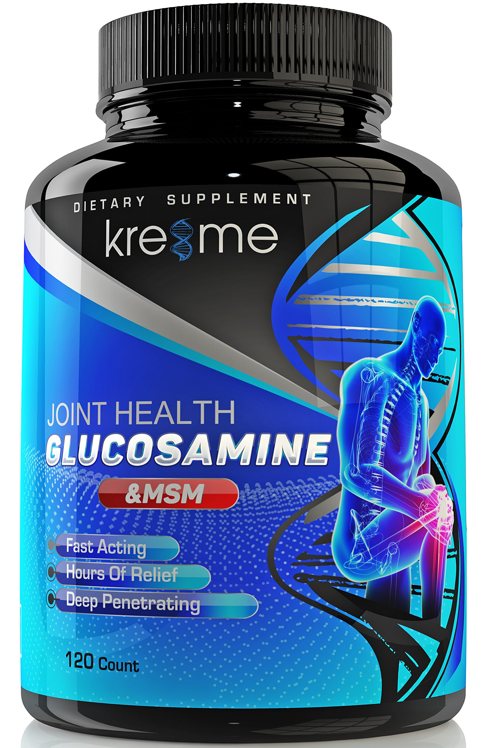 Cheap Extra Strength Glucosamine Find Kirkland Signature Hci 1500mg With Msm Get Quotations Kre8me Complex Chondroitin Hyaluronic Acid And Fruitex