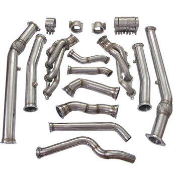Exhaust System Twin Turbo Manifold Header Donwpipe For Pontiac Gto Holden  Monaro Ls1 Ls2 - Buy Twin Manifold Header Donwpipe,Exhaust Twin Manifold