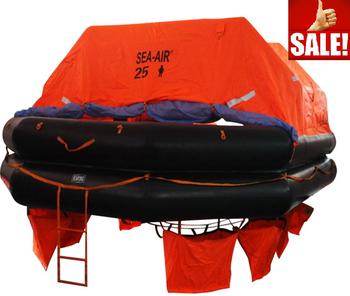 Marine Inflatable Life Raft,Throw-over/davit-launch/self-righting/open  Reversible Liferaft,Self Inflating Life Raft For Sale - Buy Marine  Inflatable