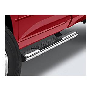 2013-2017 Dodge Ram 1500 Quad Cab Chrome Tubular Side Steps