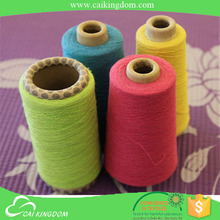 Trade Assurance conical cone 14s oe recycled cotton yarn