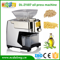 Best quality mini peanut oil press machine crude cooking small oil press machine