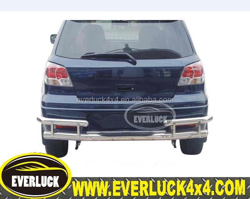 Stainless steel outer Rear Bumper Protector Cover for Outlander 2006-2012