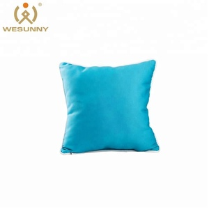 Bulk blue decorative cushion covers pillow case