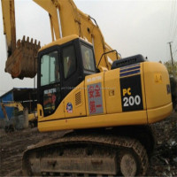 New Excavator Komatsu PC200 Price, Japan Excavator Komatsu PC200-7 for sale