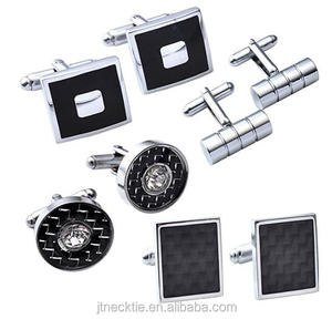 Novelty accessories tie clips and cufflinks silver