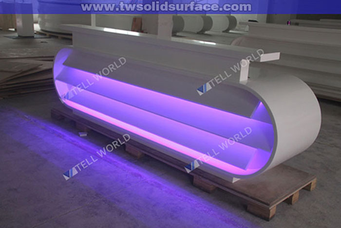 Illuminated Bar Table Translucent Stone Wooden Bars For Sale - Buy ...