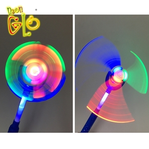 Birthday Party Supplies Led Lighting DIY Windmill Spinner Wand for Kids