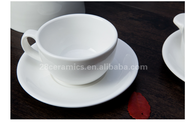 Airline use dishwasher safe fine china porcelain tableware set
