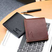 Bifold Wallet For Men Soft Genuine Vintage Leather Short wallet