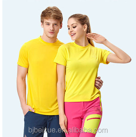 Wholesale 100 polyester cool sports dry fit man t shirt polo