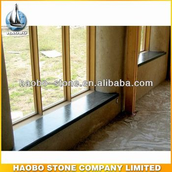 Haobo China Factory Black Granite Window Sill Tiles Cover