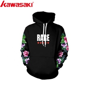 High quality 3d printed plain blank black mens hoodies sweatshirts