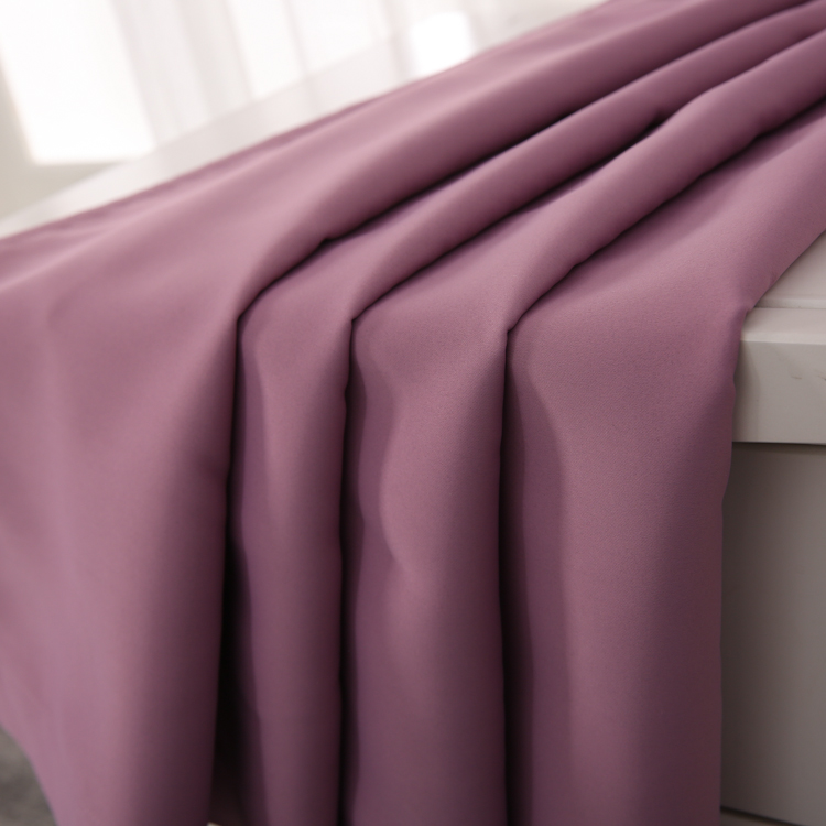 Classic purple pink romantic office cubicle double panel home goods curtains