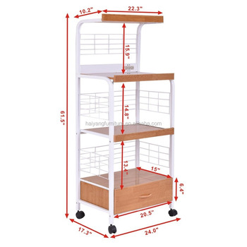 Kitchen Rack Cart Microwave Stand