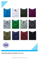 hot sale OEM customized men's short sleeve plain t-shirt