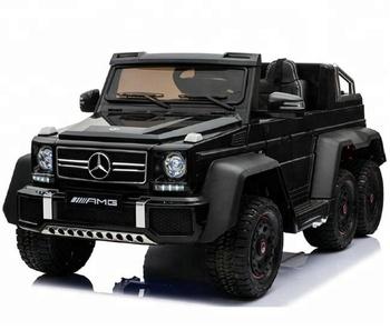 Mercedes Benz G63 Licensed Kids Electric Car 24v Ride On Children Baby