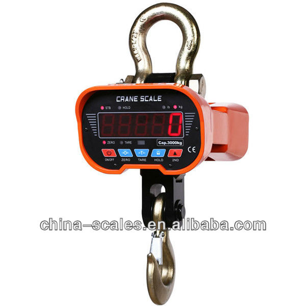 10T digital weighing scale/electric chain hoist scale