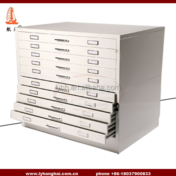 A1 Archives 10 Drawers File Cabinet Uk Standard Fully Embled Vertical Flat Metal Plan Drawing Chest