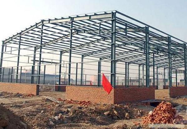 Heavy duty prefabricated metal warehouse/plants/building