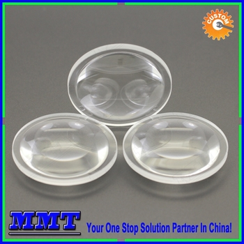 Od 50.8mm Molded Biconvex Aspheric Lens For Smoking Detecting ...