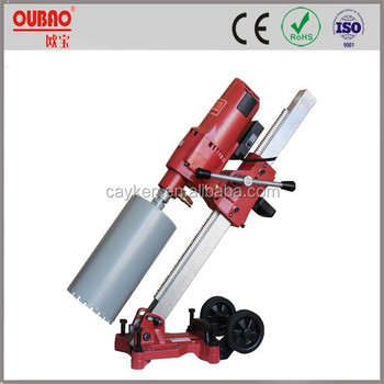 professional portable reinforcement concrete diamond core drill machine