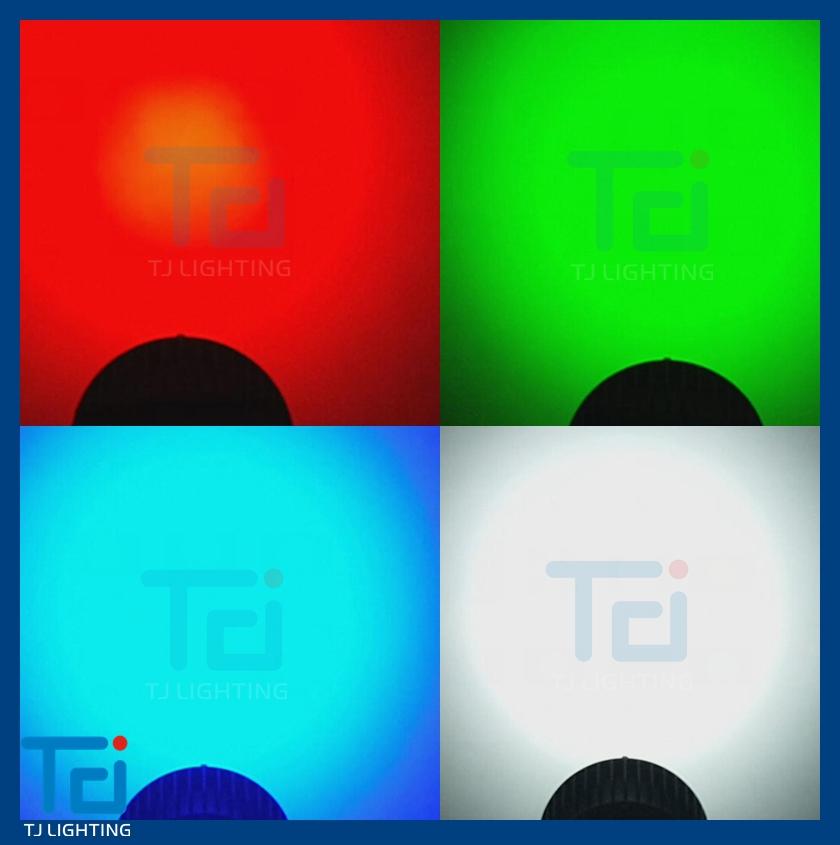 Full Color Wash Indoor Led Par Can,Rgbwa Uv 6in1 Led Par Light ...