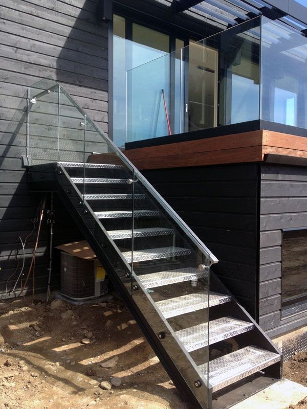 Iron Straight Used Metal Deck Stairs Straight Stair Treads ...