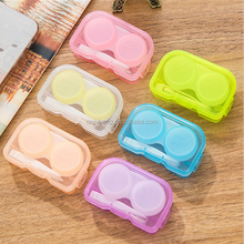 Eyeglasses Case Cute Mini Contact Lens Easy Carry Case / Contact lenses box container contact lens case