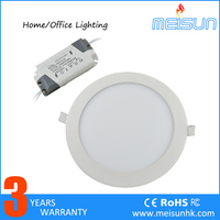 Indoor LED Panel Lights CE Round Shape 24W SMD Led Ceiling Panel Light/ Lamps for indoor kitchen or home decoration